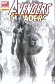 Avengers Invaders #5 Retailer Incentive Sketch Variant 1:50 Alex Ross Marvel comic book